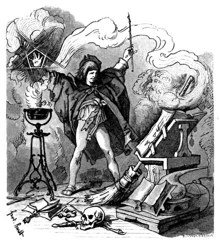 Goethes Zauberlehrling
