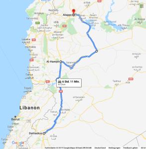 Aleppo Detour
