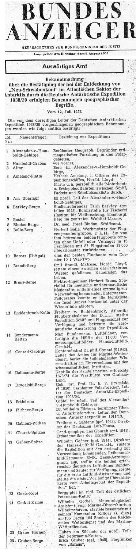 1952-08-05_-_Bundesanzeiger_-_Nr._149_-_S._1_-_Neuschwabenland d